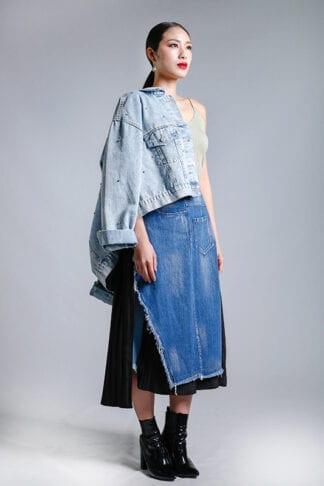 denim skirts -- Love, Fioyo