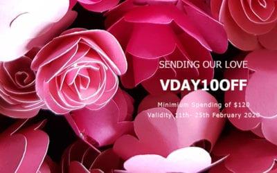 SENDING LOVE ON V' DAY