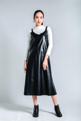 leather dress-- Love, Fioyo