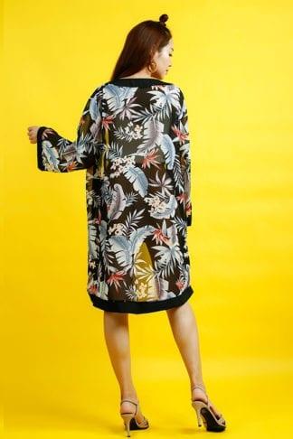 Kimono Longline Cardigan