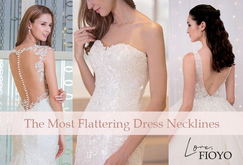 Wedding Dress Stores Singapore: The Most Flattering Dress Necklines