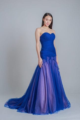 mermaid evening gown online