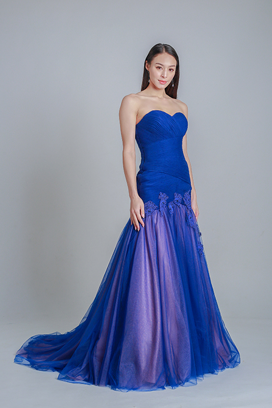 mermaid evening gown online