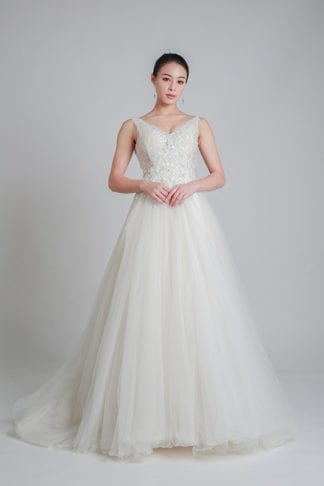 long train wedding dress online