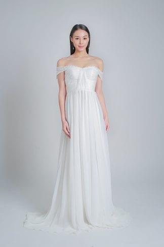 simple wedding dress online