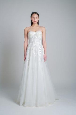 minimalist gowns online