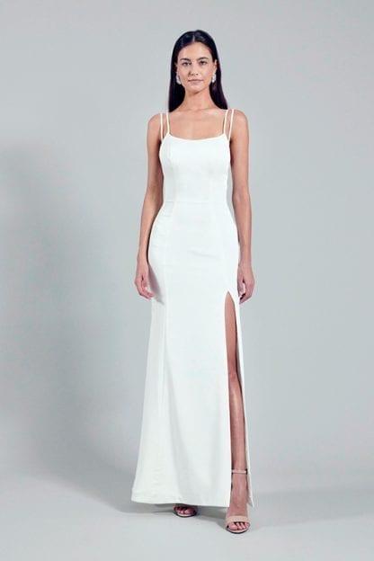simple bridal dress online rental Singapore