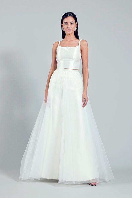 bridal crop top and pants online