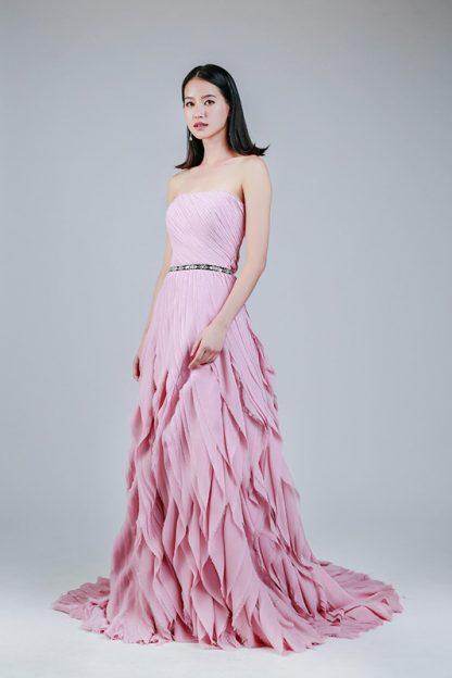 rent ruffle dress Singapore -- Love, Fioyo