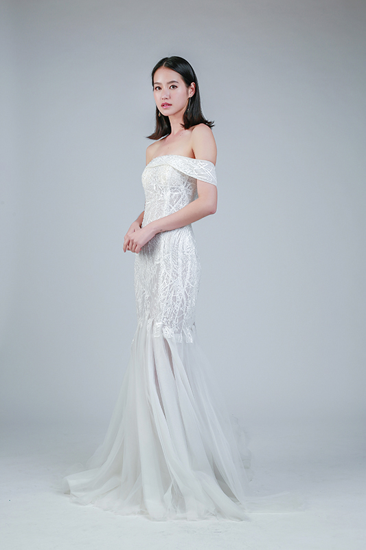 rent mermaid wedding dress