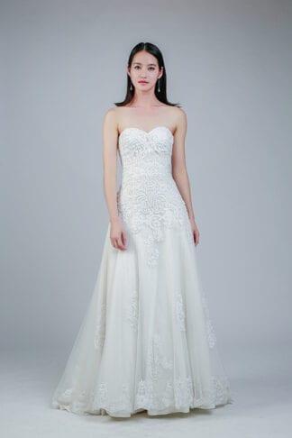 rent white gown Singapore