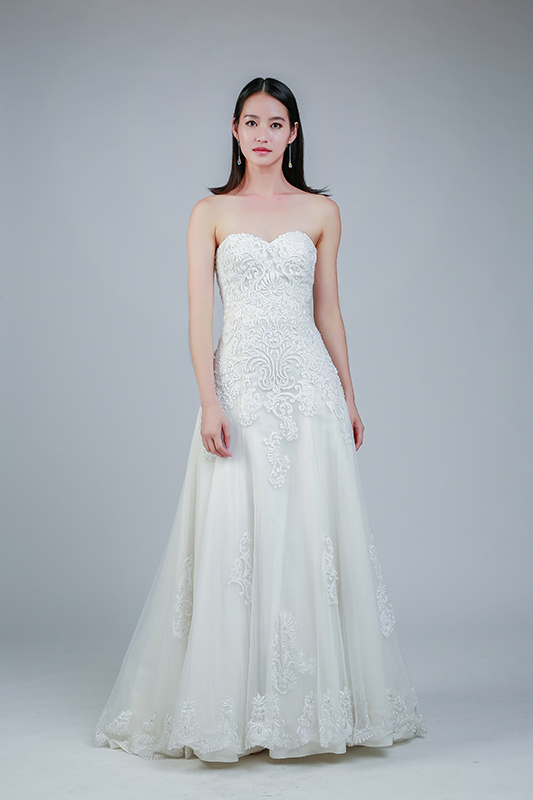 rent white gown Singapore