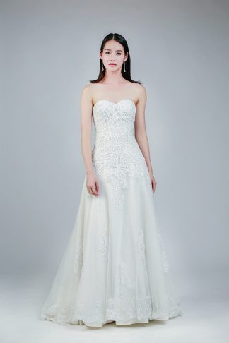 simplicity wedding gown -- Love, Fioyo