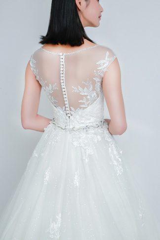sexy back wedding dress -- Love, Fioyo