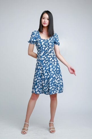 midi dress--Love, Fioyo