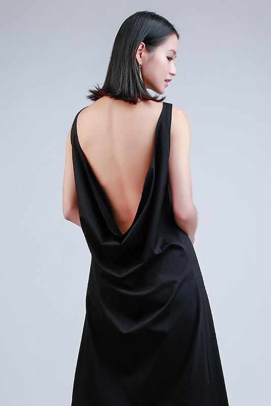 Low back dress -- Love, Fioyo