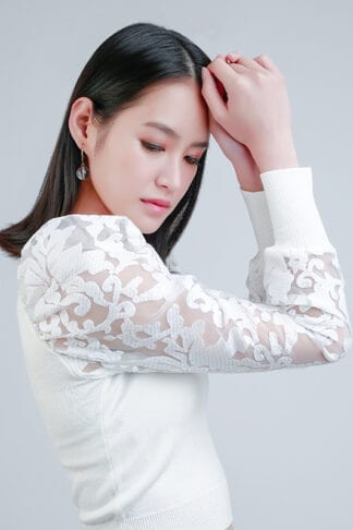 Long sleeve top -- Love, Fioyo
