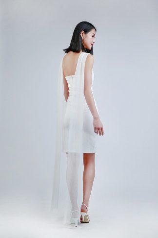 short white dress -- Love, Fioyo