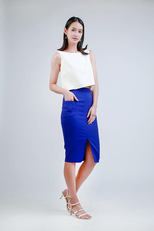 ladies work skirt -- Love, Fioyo